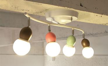 Annabell-ceiling lampアナベルシーリングランプAW-0323照明の使用風景