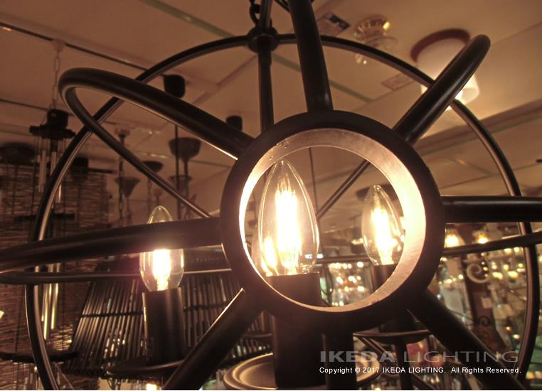 シャンデリア 4灯