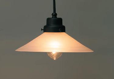 外消しP1硝子ロマンペンダント〔GLF-3226〕の照明詳細画像1