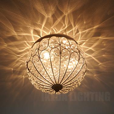 イタリア製シーリングの照明詳細画像2