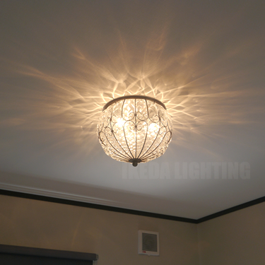 イタリア製シーリングの照明詳細画像1