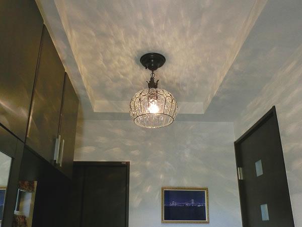 イタリア製シーリング〔白熱球・LED照明〕の照明イメージ