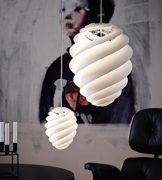 レ・クリント swirlスワール照明イメージ