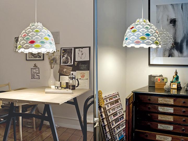 ルイスポールセン|LCシャッターズペンダントの照明イメージ