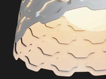 ルイスポールセンLCシャッターズペンダントの照明イメージ