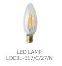 LED電球シャンデリア形