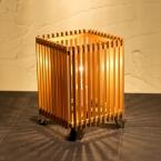簾 ren S (調光タイプ)|和風|照明|スタンド