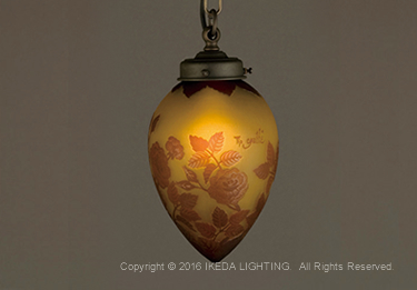 薔薇(レッドローズ)【ガレコレクション】の照明詳細画像2