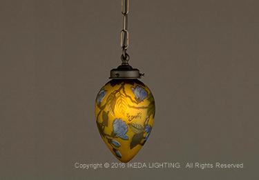 木蓮(マグノリア)ガレ|照明|ガレコレクション|照明器具|詳細画像1