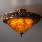 薔薇 レッドローズ|ガレ|ランプ|照明