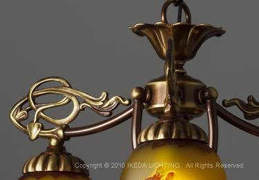 薔薇(レッドローズ)【ガレコレクション】の照明詳細画像4