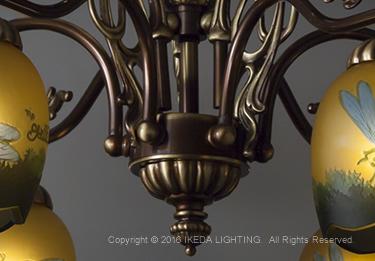 トンボ(リベラ)【ガレ ランプ コレクション】の照明詳細画像3