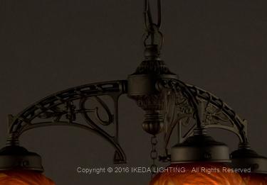 レッドチェリー【ガレコレクション】の照明詳細画像4