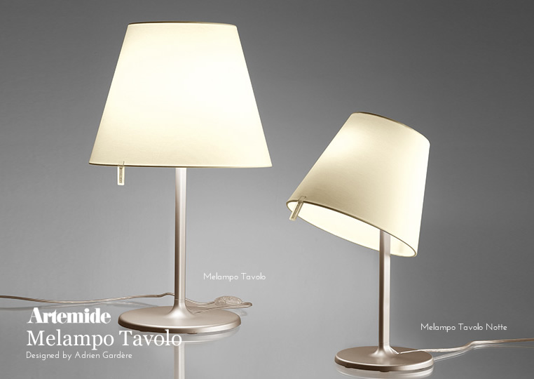 Melampo Tavolo Notte|テーブルランプ|Artemideアルテミデのイメージ