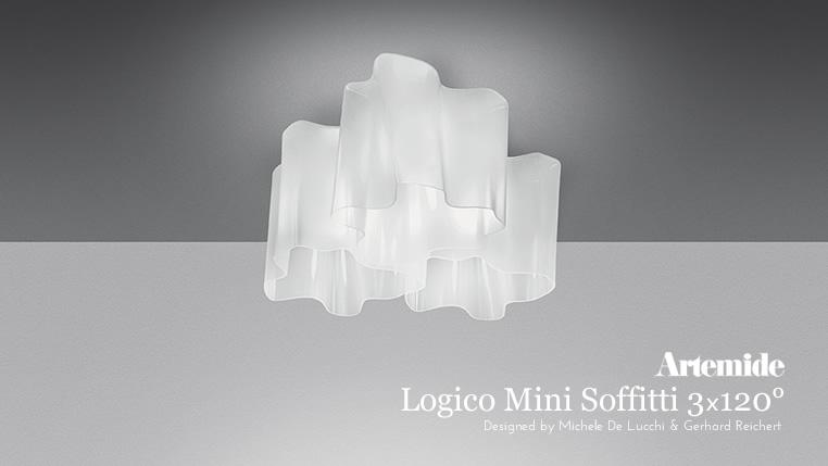 Logico Mini Soffitti 3x120° のイメージ