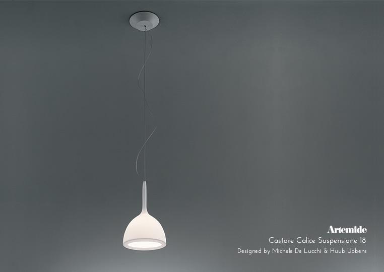 Castore Calice Sospensione|ペンダントランプ|Artemideアルテミデのイメージ