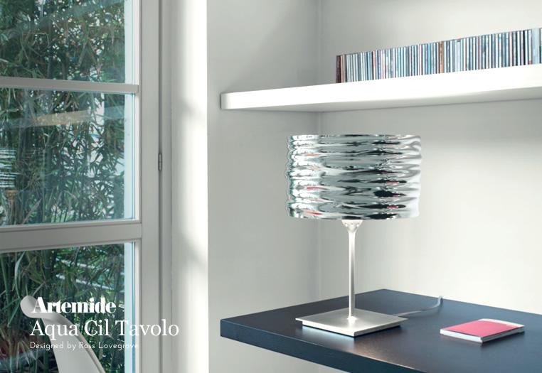 Aqua Cil Tavolo|テーブルランプ|Artemideアルテミデのイメージ