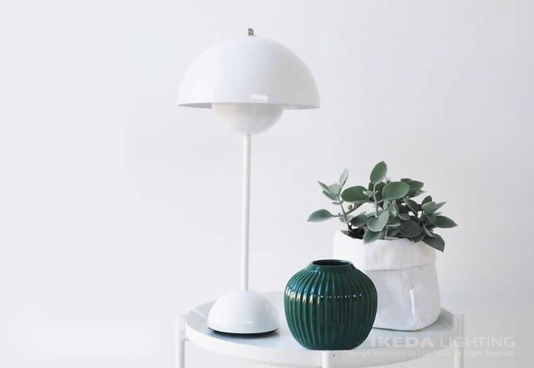 フラワーポット テーブルランプ|アンド・トラディション|照明