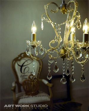 エデン3 シャンデリア Eden3〔AW-0230〕アートワークスタジオの照明イメージ画像