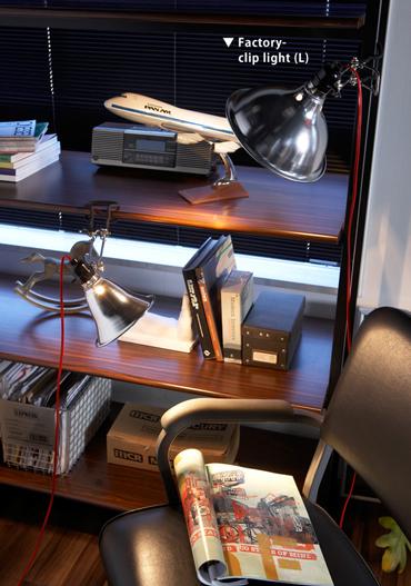 ファクトリー クリップ ライト AW-0291の照明イメージ
