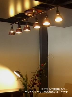 AW-0360ハーモニーシックスリモートシーリングランプHARMONY 6 remote ceiling lampのイメージ