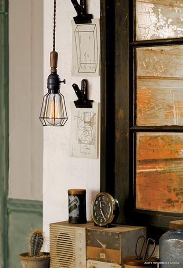Yard-pendantヤードペンダントAW-0414(白熱・蛍光・LED照明)〔アートワークスタジオ〕の照明イメージ画像1