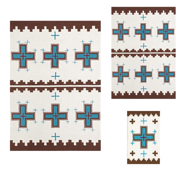 CrossクロスTK-4239ラグマット【アートワークスタジオ】のカラーイメージ画像