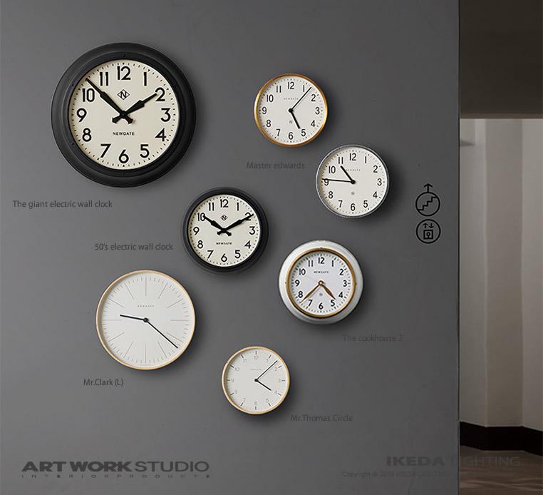 ニューゲート / アートワークスタジオ|掛け時計のイメージ画像