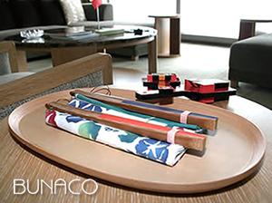 bunacoブナコ照明 G8北海道洞爺湖サミットの際ブナコ製のトレイがお土産として用意されました。