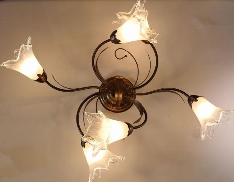 インポートシャンデリア 6灯