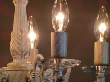 インポートシャンデリア | 5灯の照明詳細画像