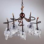 イタリア製シャンデリア 5灯