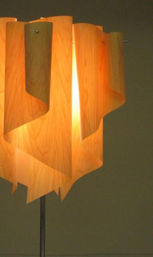 Auro-woodアウロウッドフロアランプLF4200の照明イメージ