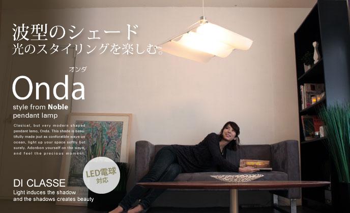 Onda-Mオンダ-M_lp2758の照明イメージ