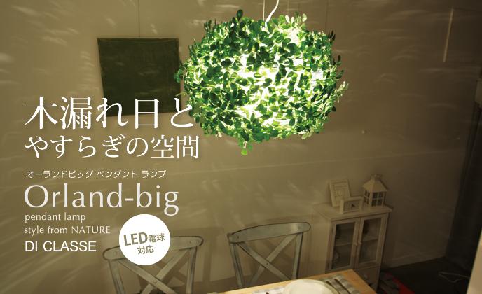 Orland-bigオーランドビッグペンダントランプLP3005の照明イメージ