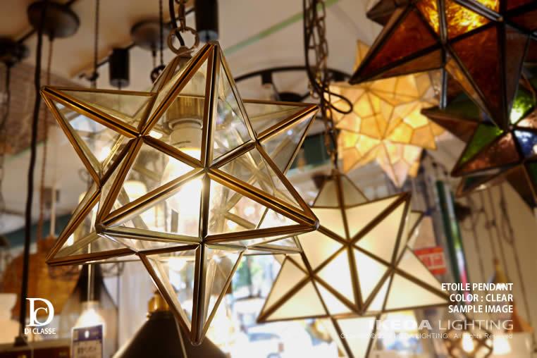 エトワール|照明|玄関|ペンダントランプ|Etoile|クリア|LP3020〔ディクラッセ〕|ライトのイメージ