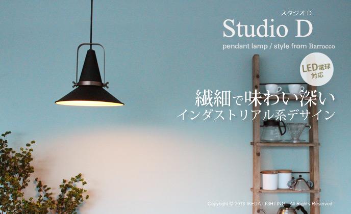 StudioDスタジオD_lp3051の照明イメージ