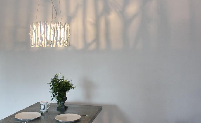 Rami pendant lamp|ラミペンダントランプ|LP3060WH|ディクラッセの照明イメージ