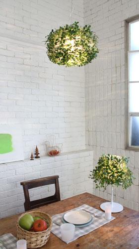 Foresti table lampフォレスティテーブルランプLT3692の照明イメージ