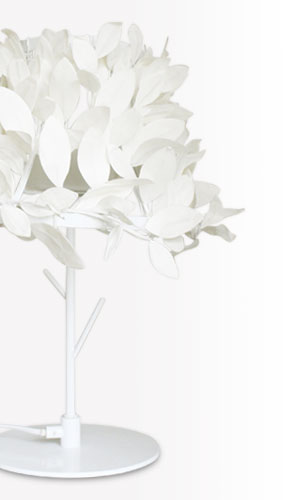 Paper-Foresti table lampペーパーフォレスティ テーブルランプLT3695WHの照明イメージ