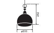 タウルス〔GLF-3357〕|後藤照明のサイズ画像