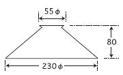 アンドロメダ〔GLF-3364〕|後藤照明のサイズ画像