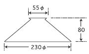 ケンタウルス〔GLF-3372〕|後藤照明のサイズ画像