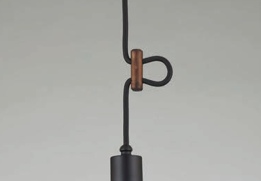 マッターホルン(1灯用CP型黒) 〔GLF-3457〕の照明詳細画像2
