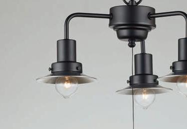 モンブラン(3灯用CP型) 〔GLF-3458〕の照明詳細画像1