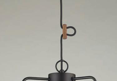 アンナプルナ(1灯用CP型黒) 〔GLF-3460〕の照明詳細画像2
