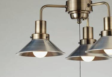 モンテローザ(3灯用CP型BR) 〔GLF-3466〕の照明詳細画像1