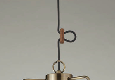 モンテローザ(3灯用CP型BR) 〔GLF-3466〕の照明詳細画像2