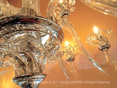 ボヘミアンクリスタルシャンデリアのイメージ画像