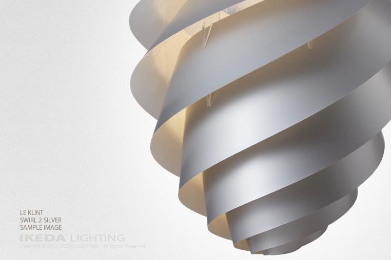 スワール|ペンダント|レクリントの照明イメージ
